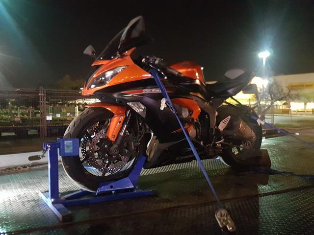 Motorbikes Safe Towing by Tow Master in AJAX