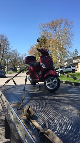 Motorbikes Safe Towing by Tow Master from etobicoke