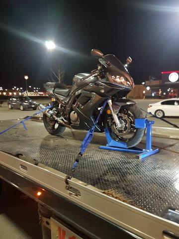 Motorbikes Safe Towing by Tow Master from North York